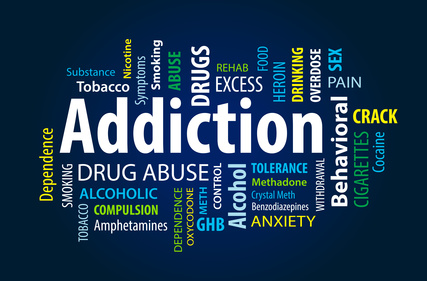 addiction words