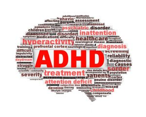 ADHD lettering